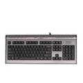 Клавиатуры, мыши, комплектыA4Tech KL-7 Silver PS/2