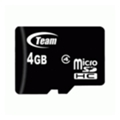 Карты памятиTEAM 4 GB microSDHC Class 4 TUSDH4GCL402