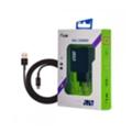 Зарядные устройства для мобильных телефонов и планшетовJust Core Dual USB Wall Charger (3.4A/17W, 2USB) Black + microUSB cable (CCHRGR-CRMU-BLCK)