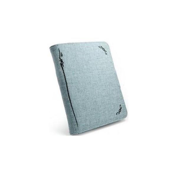 Tuff-luv Book Style E10_37 Turquoise Blue
