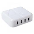 Зарядные устройства для мобильных телефонов и планшетовDrobak Multi Power 4xUSB (White) (905321)