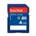 Карты памятиSanDisk 4 GB Standard SDHC Card