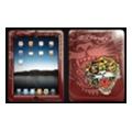 Чехлы и защитные пленки для планшетовEd Hardy Skin для iPad Maroon (IPS10A02)