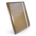 Чехлы и защитные пленки для планшетовTuff-luv Slim-Stand для iPad 2/3 Polka-Hot Beige (B4_29)