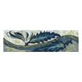 Керамическая плиткаGolden Tile Александрия Фриз 200x60 Голубой (В13331)