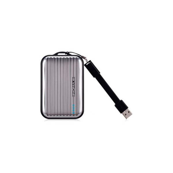 Momax iPower GO Mini+ Luggage 10000mAh Grey (IP36AD2)