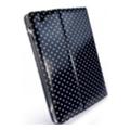 Чехлы и защитные пленки для планшетовTuff-luv Slim-Stand для iPad 2/3 Polka-Hot Black (B4_30)