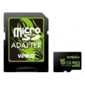 Карты памятиVerico 16 GB microSDHC Class 10 + SD adapter