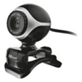 Trust Exis Webcam Black-Silver