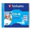 Verbatim CD-R Printable 700MB 52x Slim Case 20шт (43424)