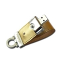USB flash-накопители Prestigio 16 GB Leather Limited Gold