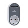 Зарядные устройства для мобильных телефонов и планшетовREAL-EL CS-20 White-Grey