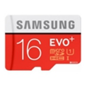 Samsung 16 GB microSDHC Class 10 UHS-I EVO Plus + SD Adapter MB-MC16DA