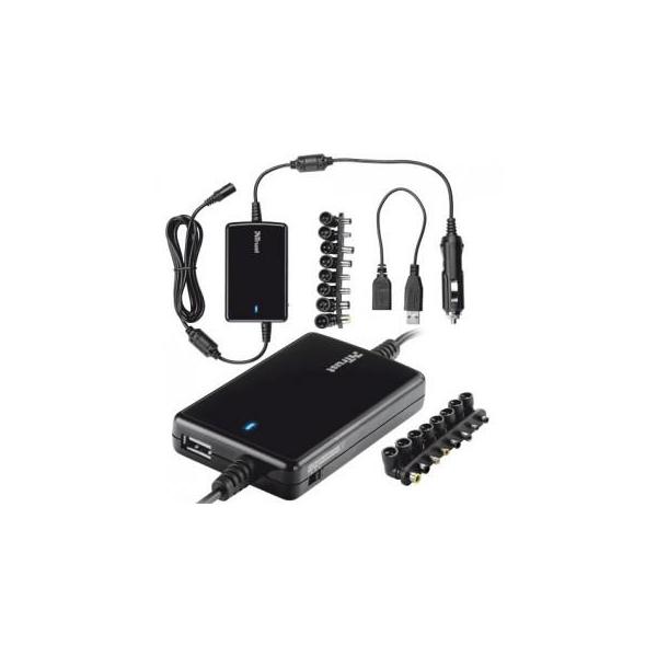 Trust Ultraslim 70W Notebook Adapter for car (18065)