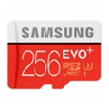 Samsung 256 GB microSDXC Class 10 UHS-I U3 EVO Plus + SD Adapter MB-MC256DA