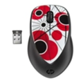 HP H2F39AA X4000 Poppy Mouse Black-Red USB