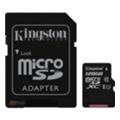 Карты памятиKingston 128 GB microSDXC Class 10 UHS-I + SD Adapter SDC10G2/128GB