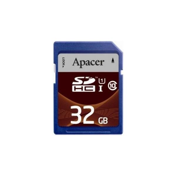 Apacer 32 GB SDHC Class 10 UHS-I AP32GSDHC10U1-R