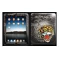 Чехлы и защитные пленки для планшетовEd Hardy Skin для iPad Charcoal (IPS10A01)