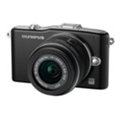 Цифровые фотоаппаратыOlympus PEN E-PM1 Double Zoom Kit