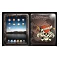 Чехлы и защитные пленки для планшетовEd Hardy Skin для iPad Chocolate (IPS10A04)