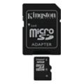 Карты памятиKingston 32 GB microSDHC class 4 + SD Adapter SDC4/32GB