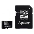 Карты памятиApacer 16 GB microSDHC Class 4 + SD adapter AP16GMCSH4-R