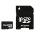 Карты памятиExceleram 32 GB microSDHC class 10 + SD Adapter MSD3210A