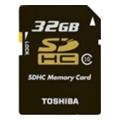 Карты памятиToshiba 32 GB SDHC Class 10 Black SD-K32CL10