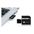 TEAM 128 GB microSDXC UHS-I + MiDrive adapter TUSDX128GUHS39