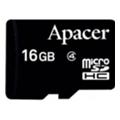 Карты памятиApacer 16 GB microSDHC Class 4 AP16GMCSH4-RA