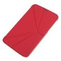 Чехлы и защитные пленки для планшетовXundd V Leather case for Galaxy Tab 3 8.0 Red