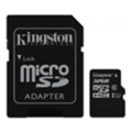 Карты памяти Kingston 32 GB microSDHC Class 10 UHS-I + SD Adapter SDC10G2/32GB
