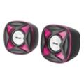 Компьютерная акустикаTrust Xilo Compact Speaker Set Pink (21181)