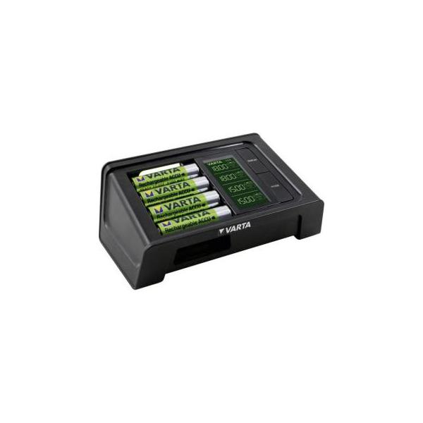 Varta LCD SMART CHARGER + 4AA 2100 mAh (57674101441)