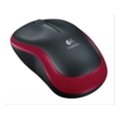 Logitech Wireless Mouse M185 Red USB