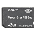 Карты памяти Sony 2 GB Memory Stick PRO Duo