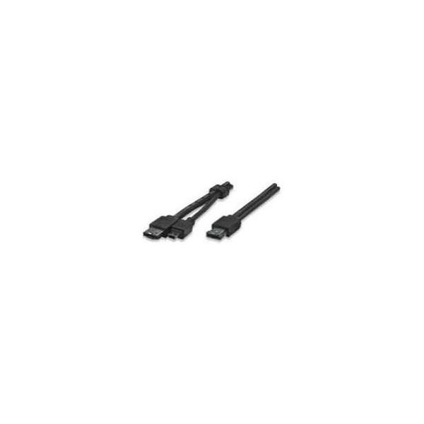 Manhattan eSATA+USB to MiniB USB and eSATA (325318)