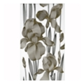 Интеркерама Декор Iris белый 230x400