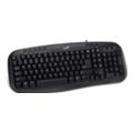Клавиатуры, мыши, комплектыGenius KB-M200 Black USB