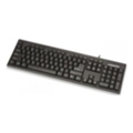 Клавиатуры, мыши, комплекты Manhattan Enhanced Keyboard 155120 Black PS/2