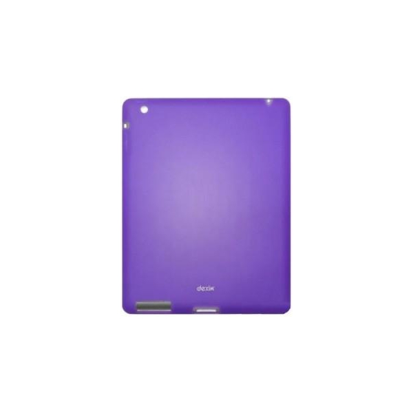 Dexim Silicon Case для iPad 2 пурпурный (DLA195-U)