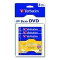 Диски CD, DVD, Blu-rayVerbatim Mini DVD+RW 1,4GB 4x Slim Case 3шт (43594)