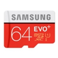 Samsung 64 GB microSDXC Class 10 UHS-I EVO Plus + SD Adapter MB-MC64DA