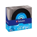 Диски CD, DVD, Blu-rayVerbatim CD-R 700MB 52x Slim Case 10шт (43426)
