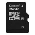 Карты памятиKingston 16 GB microSDHC class 10 SDC10/16GBSP