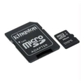 Карты памятиKingston 16 GB microSDHC class 4 + SD Adapter