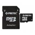 Карты памятиPretec 16 GB microSDHC Class 10 UHS-I + SD Adapter STSH16G-SA