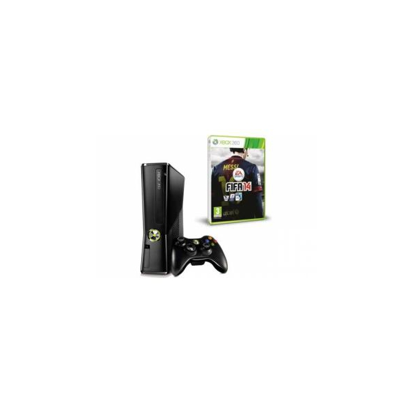 Microsoft Xbox 360 Slim 250GB + FIFA 14