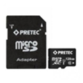 Карты памятиPretec 128 GB microSDXC Class 10 UHS-I + SD Adapter STSX128G-SA